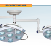 Đèn mổ phẫu thuật treo trần 2 nhánh OL-600
