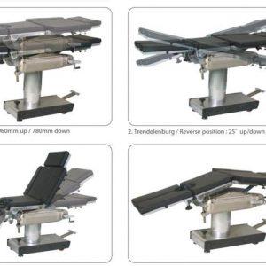 Báo giá sản phẩm Bàn mổ đa năng thủy lực OT-300 cạnh tranh nhất