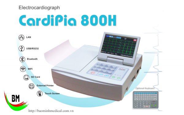 Báo giá Máy điện tim 12 cần Cardipia 800H cạnh tranh nhất