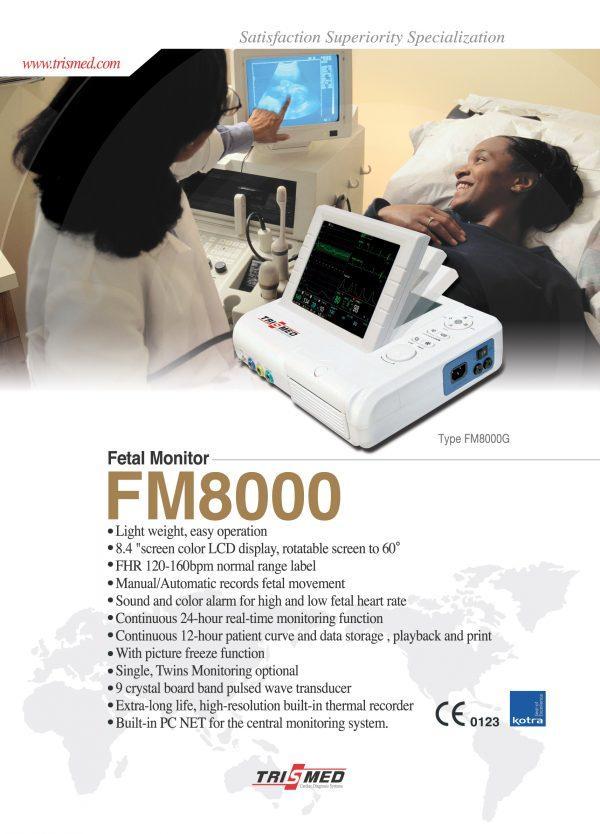 Báo giá Máy theo dõi sản khoa FM-8000 cạnh tranh nhất toàn quốc