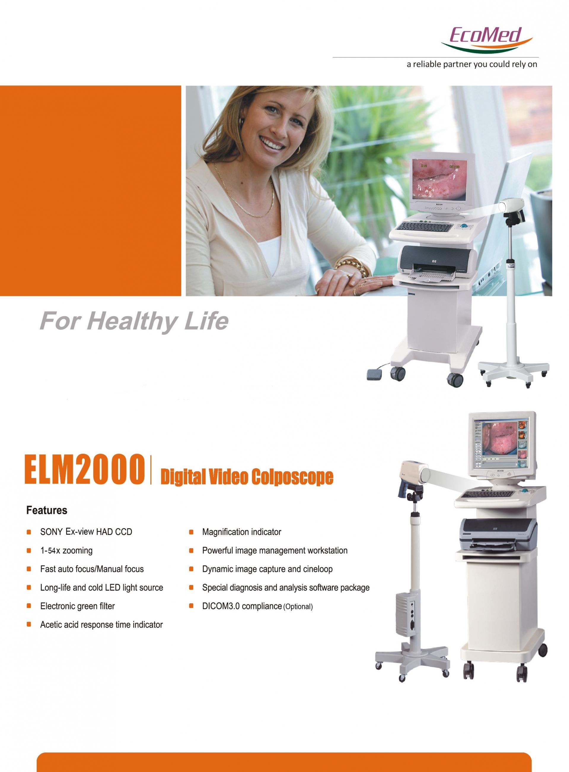 Báo giá máy nội soi cổ tử cung ELM 2000 giá tốt nhất