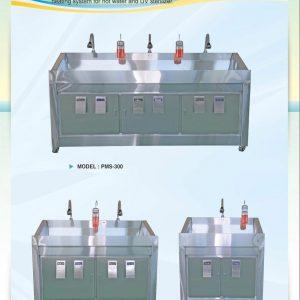 Bảng giá Bồn rửa tay tiệt trùng PMS-100-200-300 mới nhất