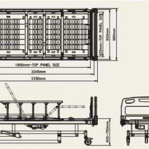 báo giá sản phẩm Giường bệnh nhân ba động cơ SBC-330-1