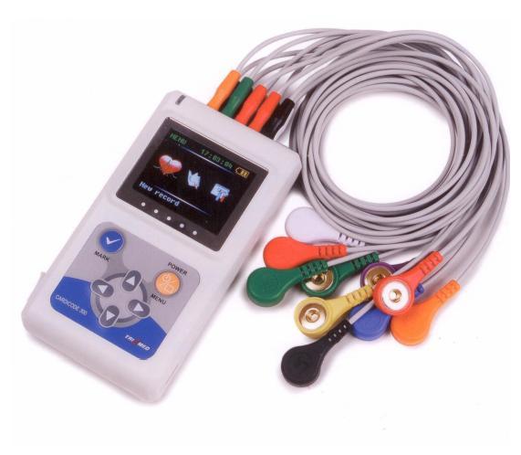 Hệ thống phân tích và xử lý điện tâm đồ Holter Cardicode-300