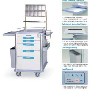 Xe đẩy gây mê ( Anesthesia Cart) SIT-N400