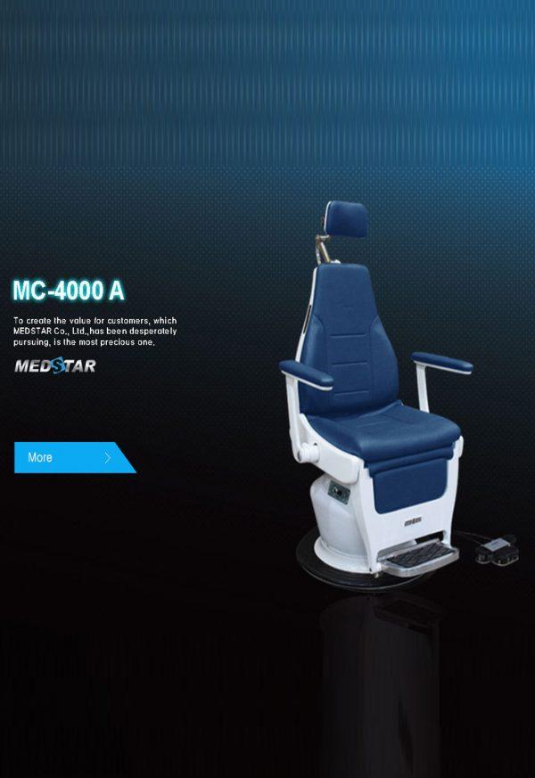 Báo giá Ghế Khám Tai Mũi Họng MC-4000A/B/G mới nhất
